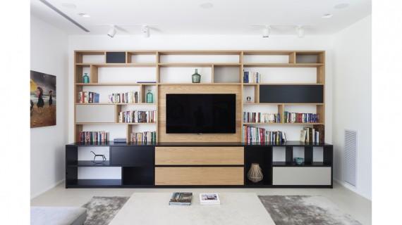 ספריית עץ אלון – ספריה מעוצבת